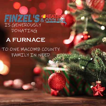Finzel's Heating and Cooling Services Furnace Give Away